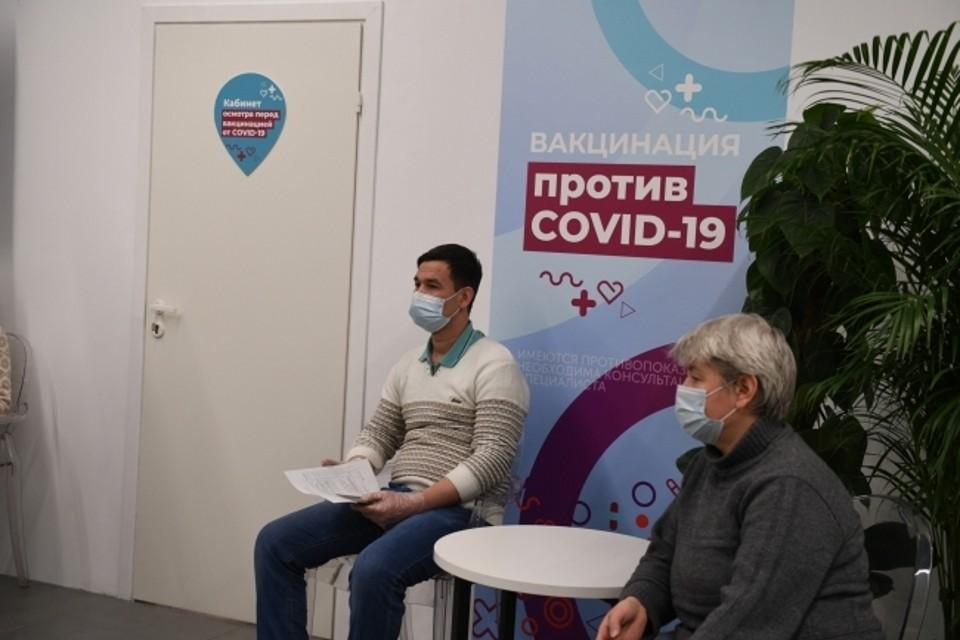 В регионе уже работают 8 прививочных пунктов.