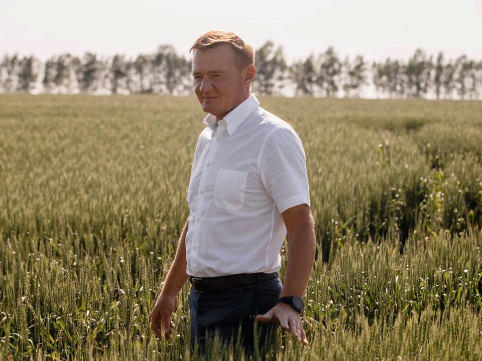 Курский губернатор отмечает день рождения