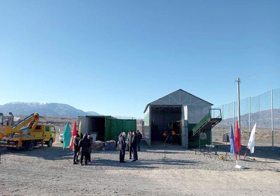 Официальное открытие комплекса с участием местных властей и активистов состоялось под занавес 2020 года.