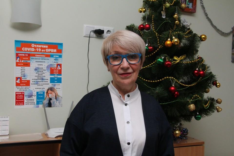 Президент организации Ольга Демичева