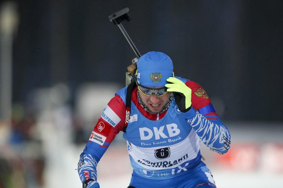 Александр Логинов победил на этапе Кубка мира в Антхольце.