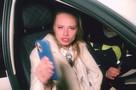 Скандальная блогерша на Mercedes врезалась в иномарку в центре Санкт-Петербурга