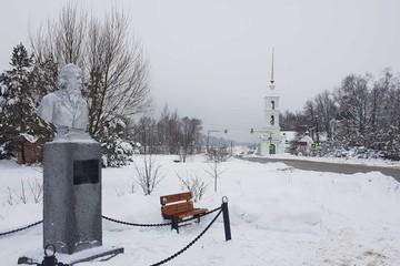 Салтыкову-Щедрину — 195 лет: Поездка на родину в Спас-Угол