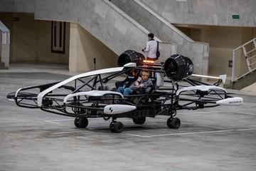 Такси-дроны полетят над Москвой в 2025 году. Если пересмотрят законы