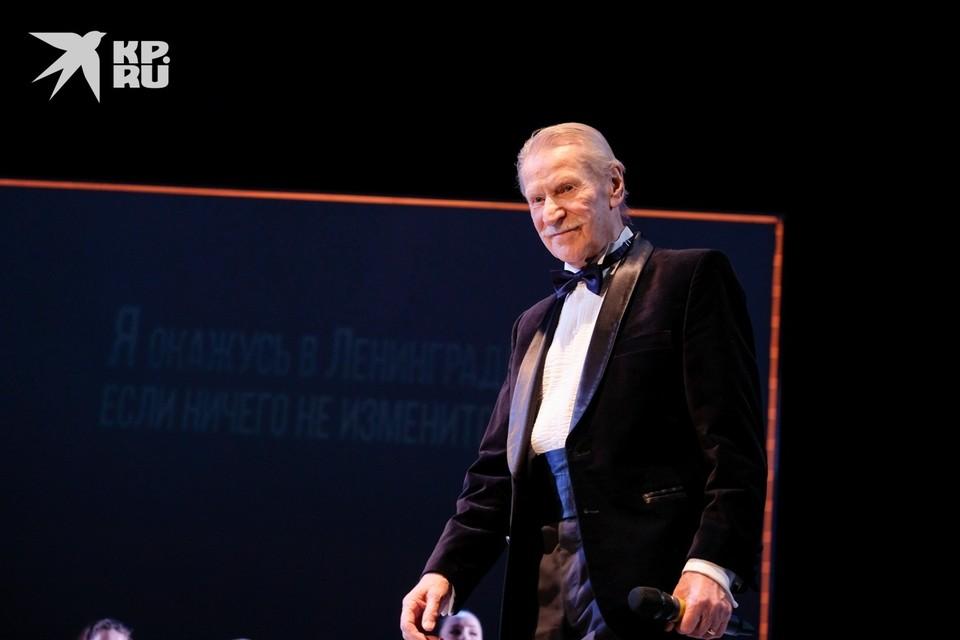 90-летний Иван Краско вернулся на сцену после коронавируса