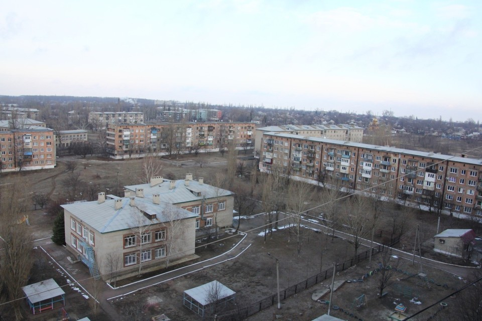 Общий вид на город