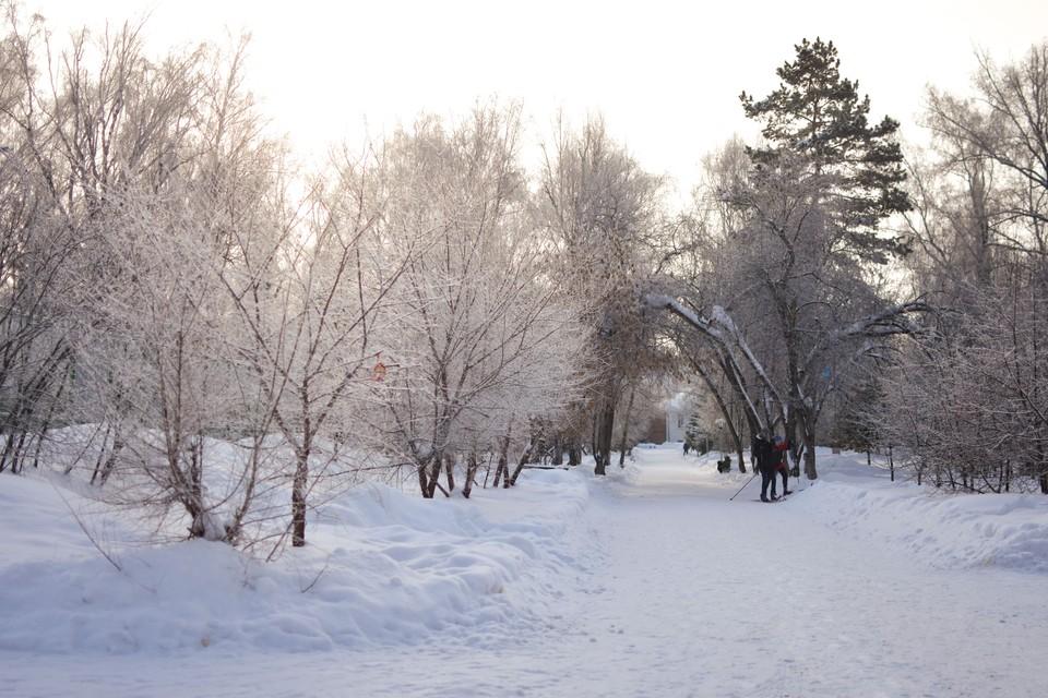 В Новосибирске снова будет ниже -10 градусов.
