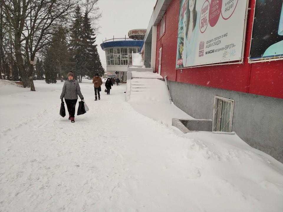 Снежная погода в регионе будет еще держаться несколько дней