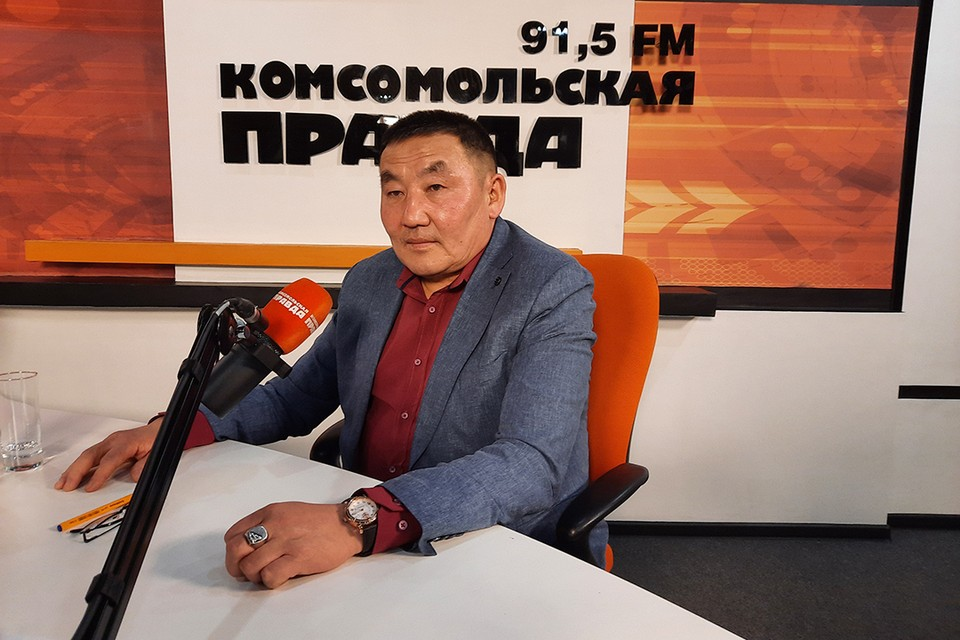 Роман Дульбеев, мэр Аларского района.