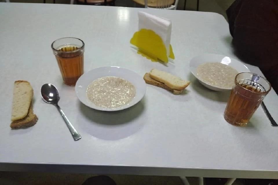 Вот так выглядит рацион питания спортсменов из Читы. Фото: https://www.facebook.com/profile.php?id=100010867306531