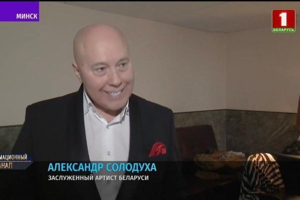 """Солодуха рассказал, что смотрел выступление Лукашенко на ВНС. Фото: скриншот с видео """"Беларусь 1"""""""