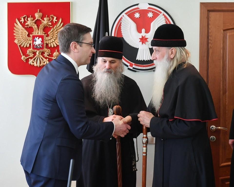 Удмуртию посетил митрополит Московский и Всея Руси РПСЦ Корнилий