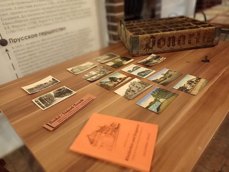 Старые открытки и фотографии займут достойное место в экспозиции.