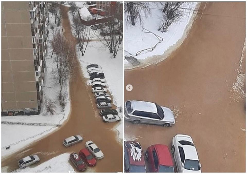 Такие фотографии сделали житель дома по улице Братьев Кашириных, 118. Фото: chelyab_news / Instagram.com
