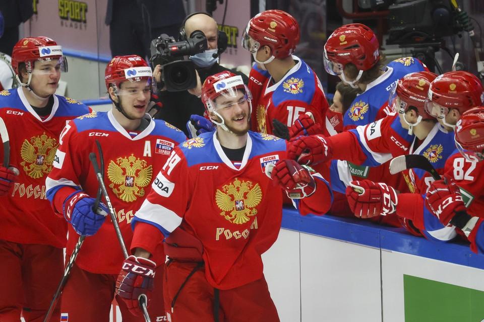 Россия победила Чехию и выиграла вообще весь Евротур.