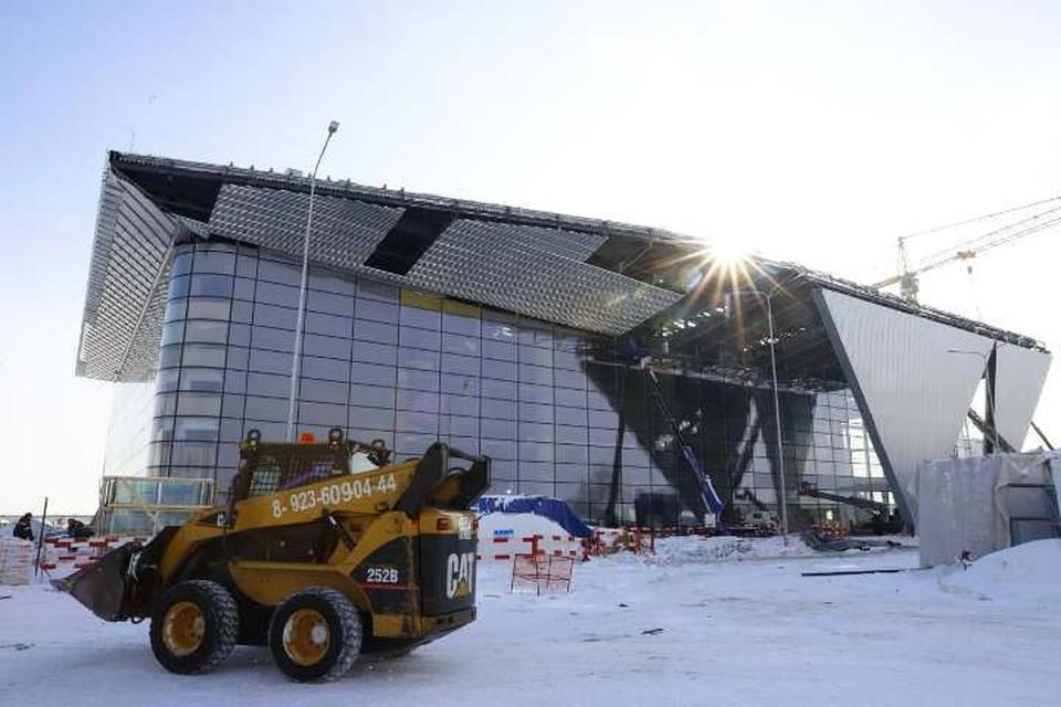 Сергей Цивилев назвал сроки открытия нового аэропорта в Кемерове. ФОТО: пресс-служба администрации правительства Кузбасса.
