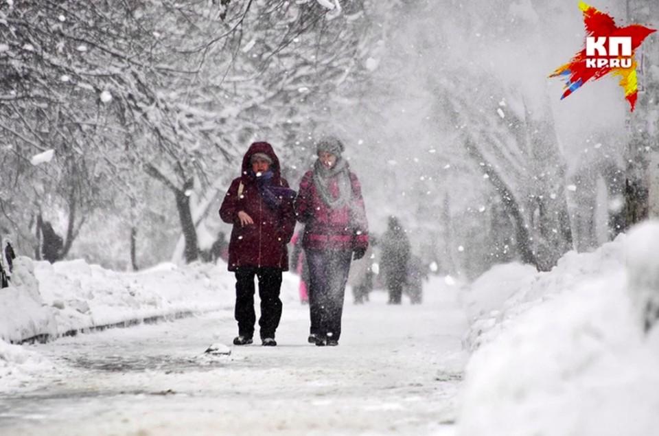 До 90% месячной нормы осадков выпало в Нижегородской области за 12-14 февраля