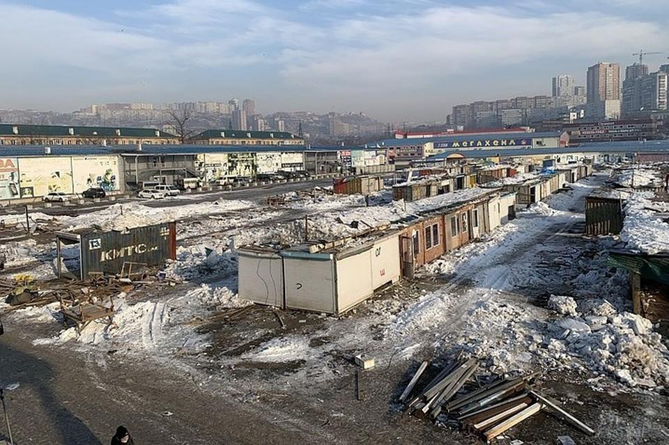 Спортивный рынок во Владивостоке сносят