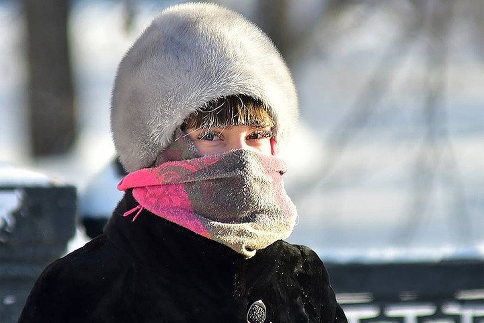 Аномально-холодная погода сохранится в республике до 25 февраля.