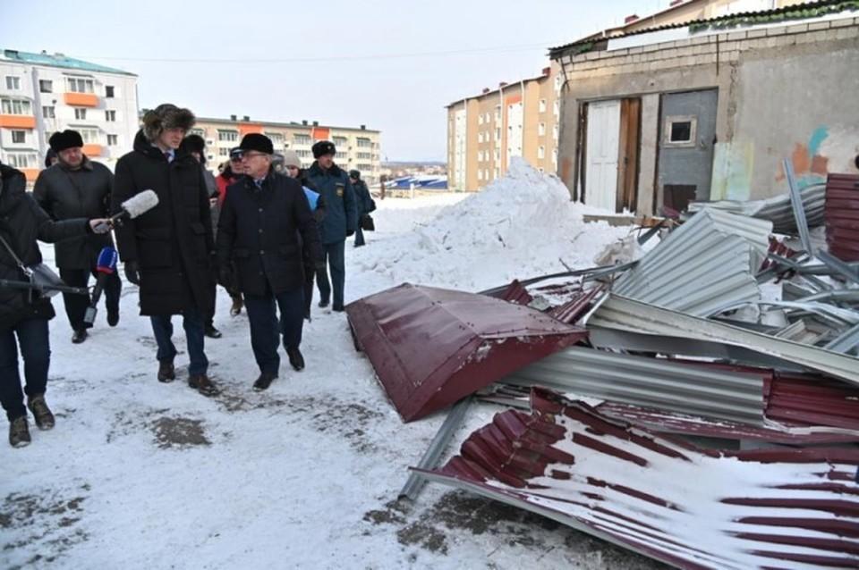 Михаил Дегтярев выехал в пострадавшие районы, чтобы лично ознакомиться с ситуацией