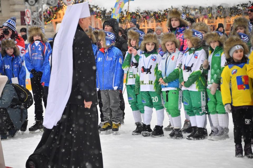 По традиции турнир открывает представитель Патриарха