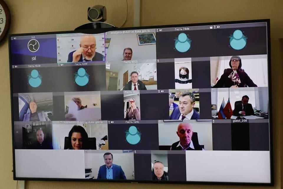 Законопроект Парламента Кузбасса вынесен на рассмотрение Госдумы Фото: Законодательное Собрание Кузбасса