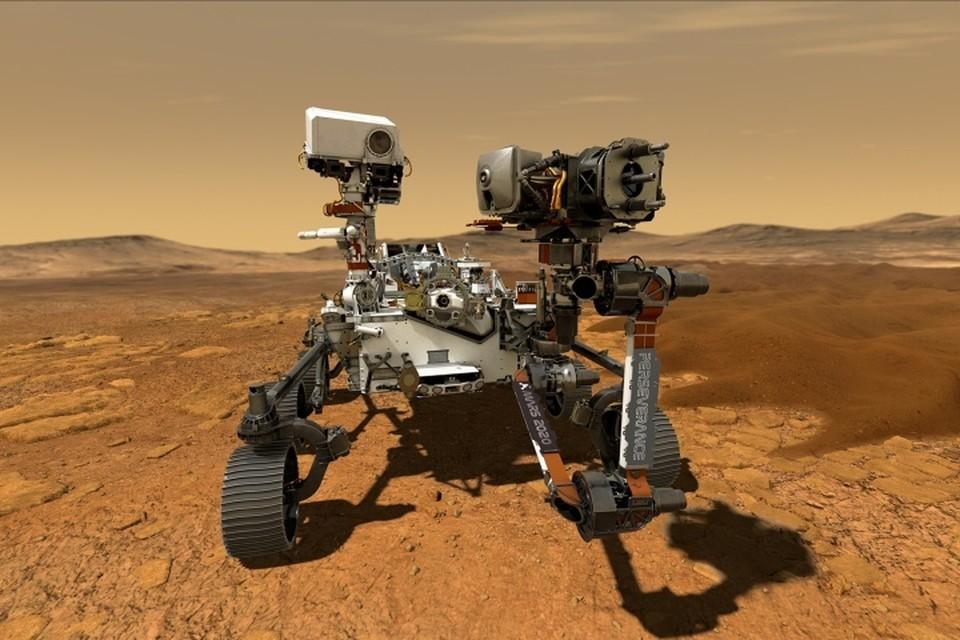 Американский ровер Perseverance приземлился на Марсе