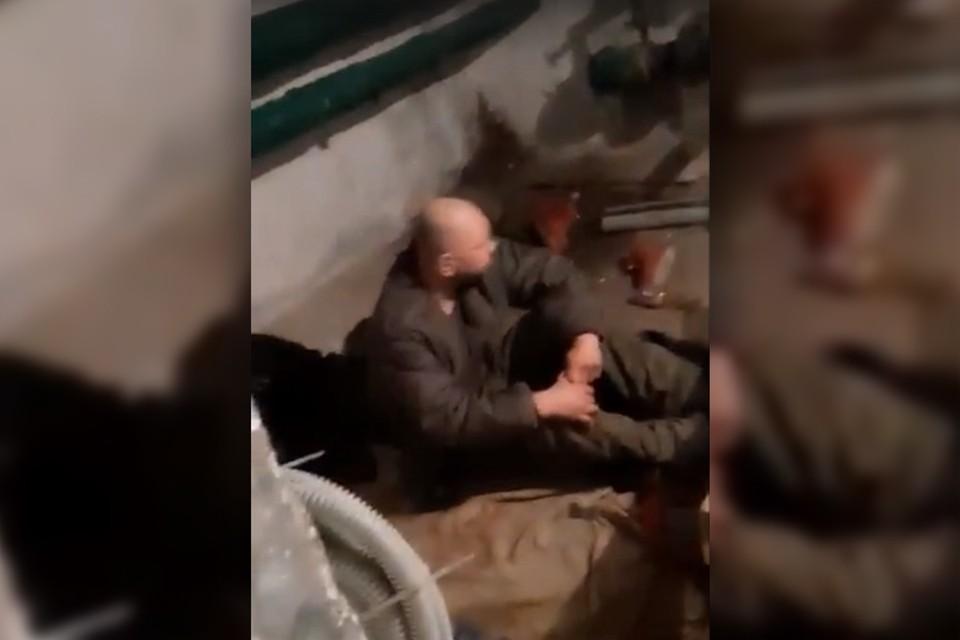 На улице Инженерной, 5 в подвале как раз появились такие незваные гости. Фото: Скриншот видео.