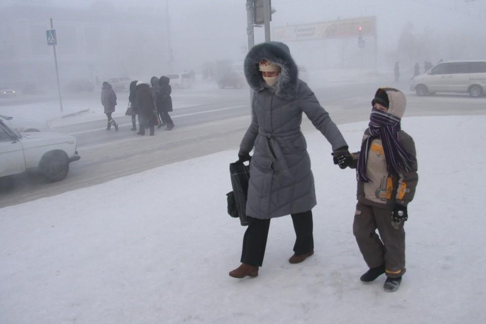 В Нижегородской области ожидаются морозы до -37 градусов.