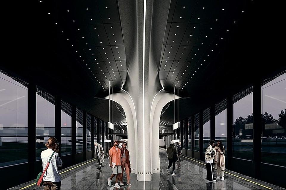 Чтобы пассажирам было комфортно пользоваться станцией, ее построят по принципиально новой технологии. В архитектурное оформление могут быть внесены изменения.