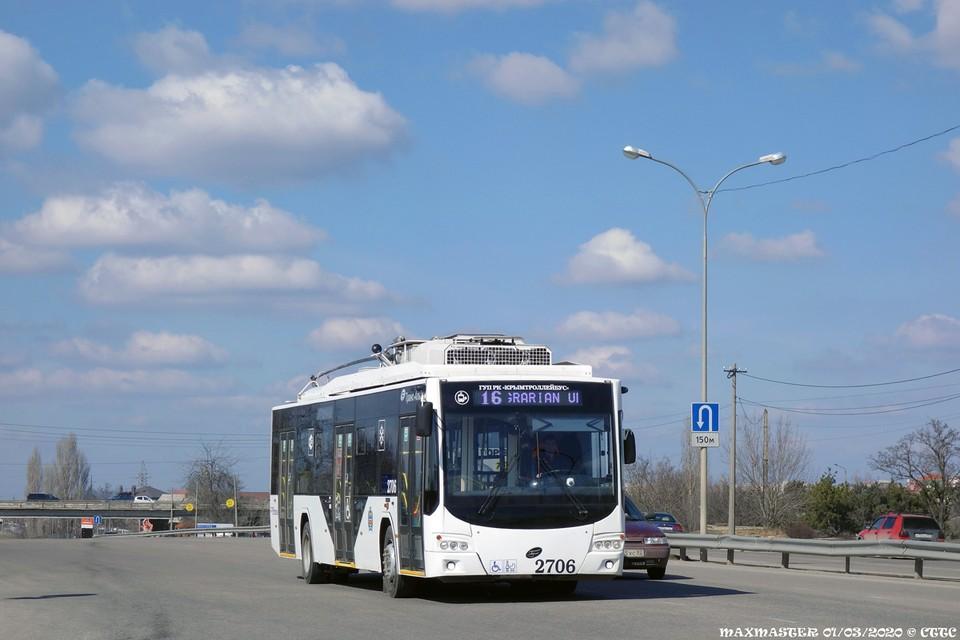 Помимо автобусов к новому медцентру Семашко будут курсировать еще и троллейбусы. Фото: «Крымтроллейбус»