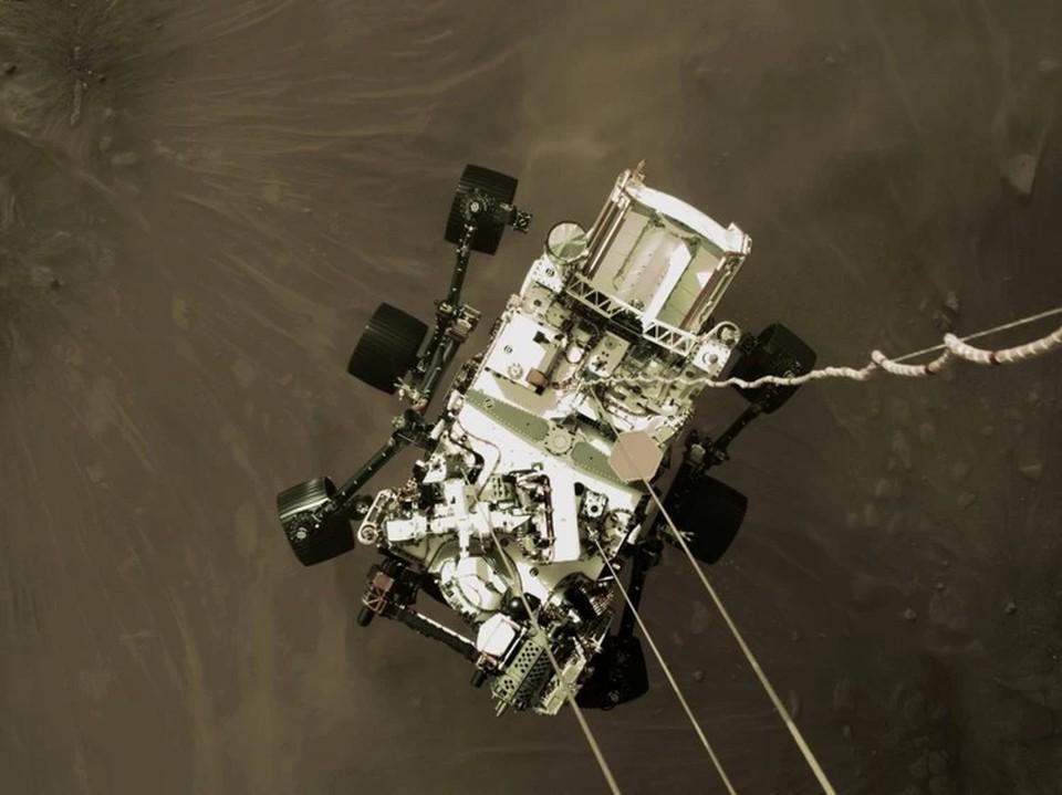 Ровер Perseverance показал видео с поверхности Марса
