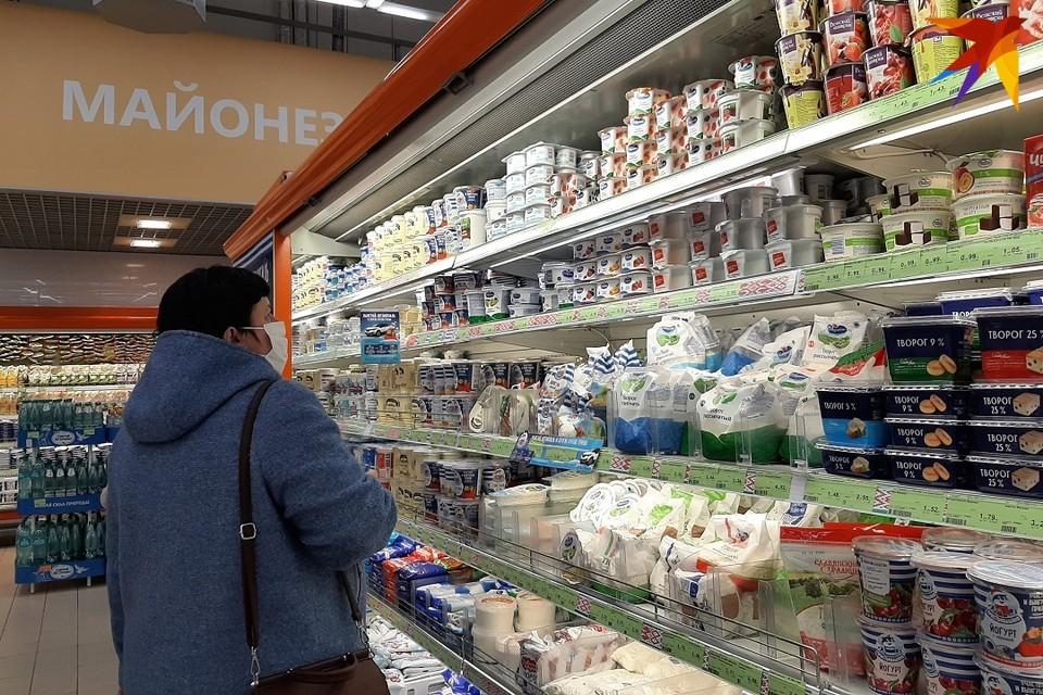 Белорусам предлагают покупать в кредит даже продукты питания, процент, правда, высокий.