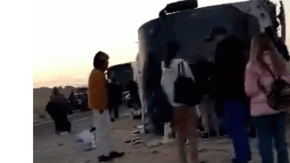 Граждане Молдовы в аварии не пострадали (Фото: соцсети).