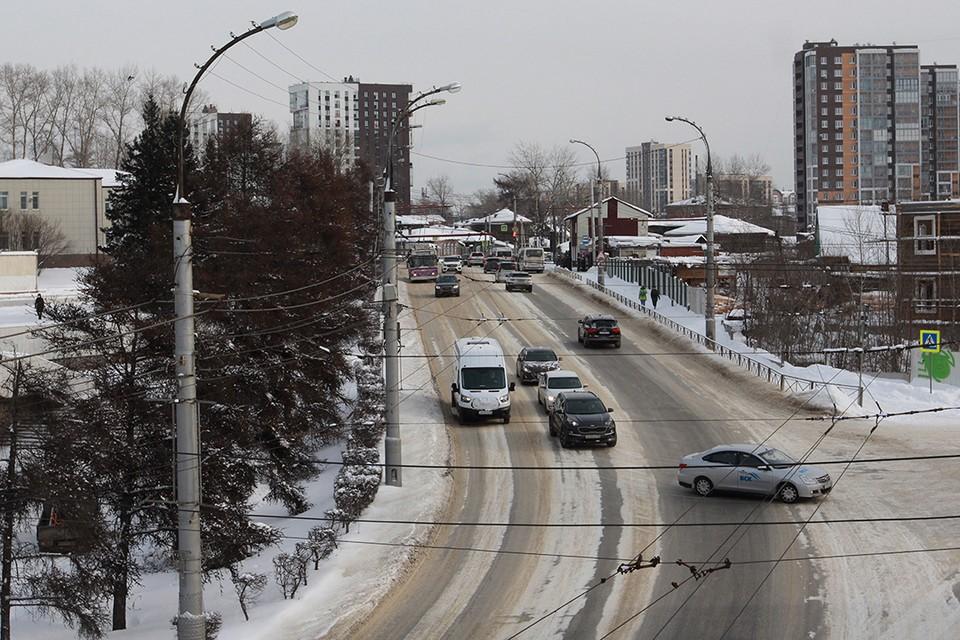 МЧС: Сильный ветер ждет Иркутск 21 февраля.