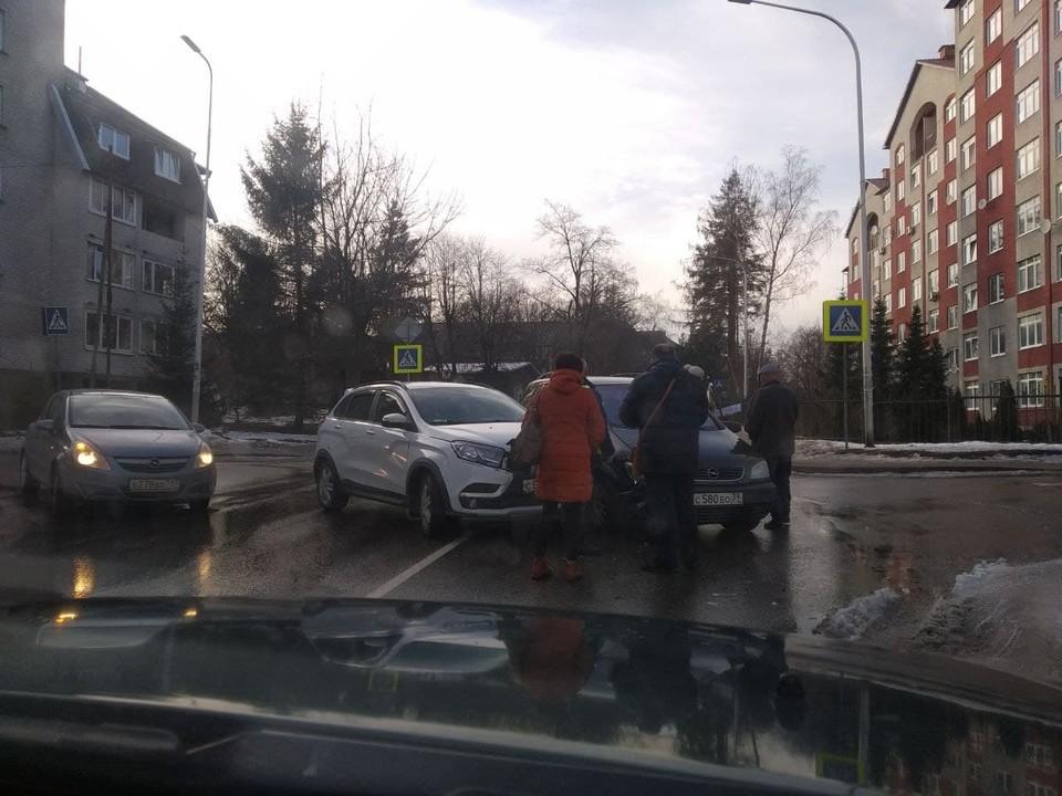 ДТП на улице Пригородной