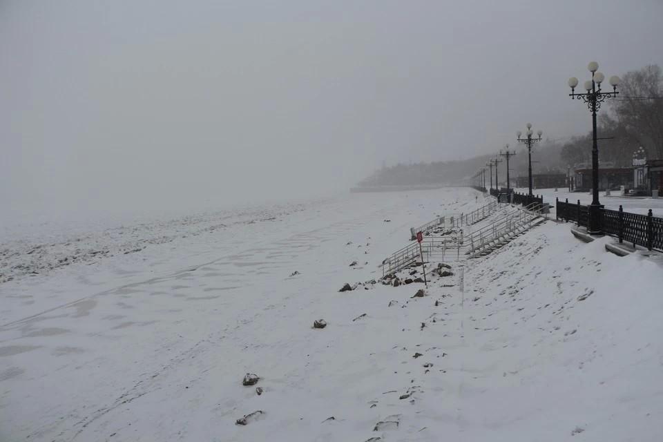 По всему краю 22 февраля пройдет снег