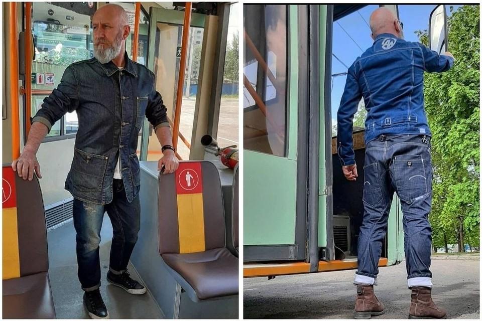 Игорю нравится водить городской транспорт. А хобби к работе не имеет никакого отношения. Фото: личный архив