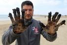 Экологическая катастрофа в Израиле: берега покрыты мазутом, гибнут черепахи