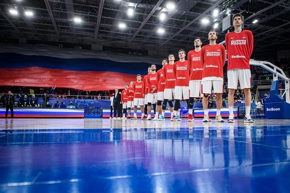 Сборная России вышла на Евробаскет-2022. Фото: предоставлено пресс-службой FIBA.
