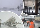Обморожения, перекрытые дороги и массовые аварии: смотрим, как Челябинская область переживает непогоду 23 февраля 2021
