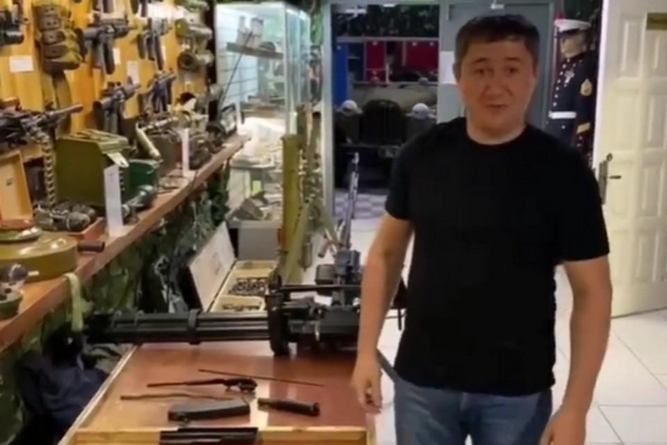 Фото: скрин с видео Instagram Дмитрий Махонин.