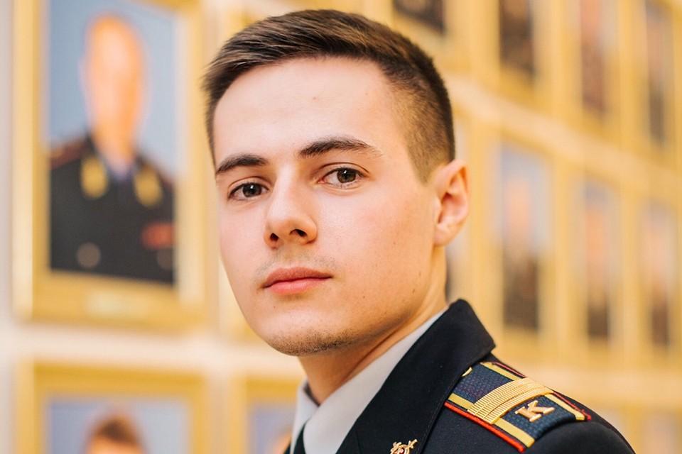 Сержант полиции Богдан Древаль. Фото: предоставлено МВД