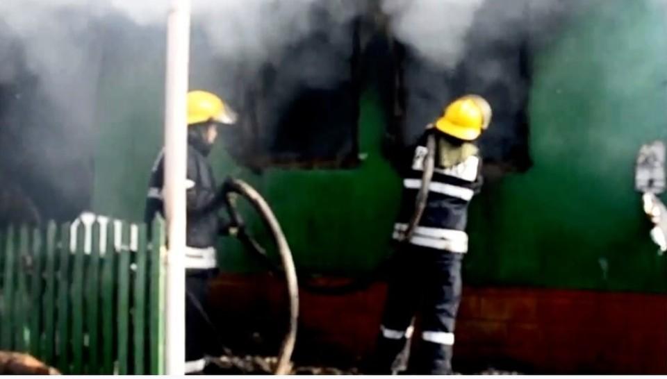 Малыш погиб в огне (Фото: deschide.md).
