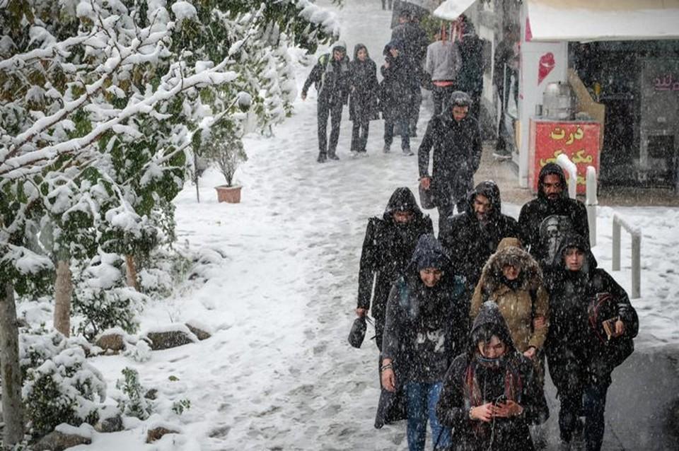 На Ближнем Востоке этой зимой прошли обильные снегопады