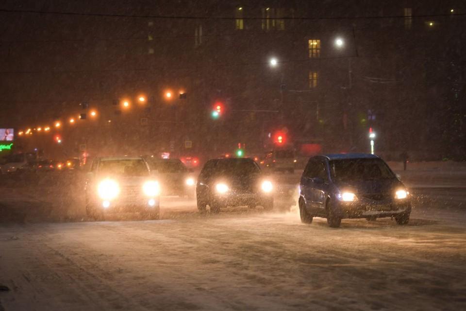 Новосибирск сковали 8-балльные пробки.
