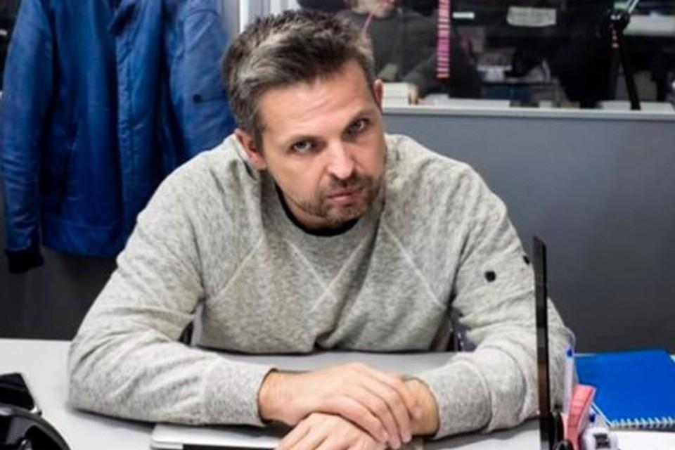 "Создатель ""Проект.медиа"" Роман Баданин."