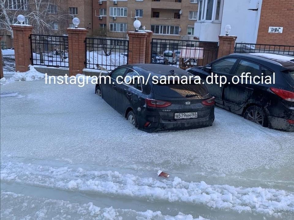 Кто будет возмещать ущерб пока неизвестно Фото: instagram.com/samara.dtp.official