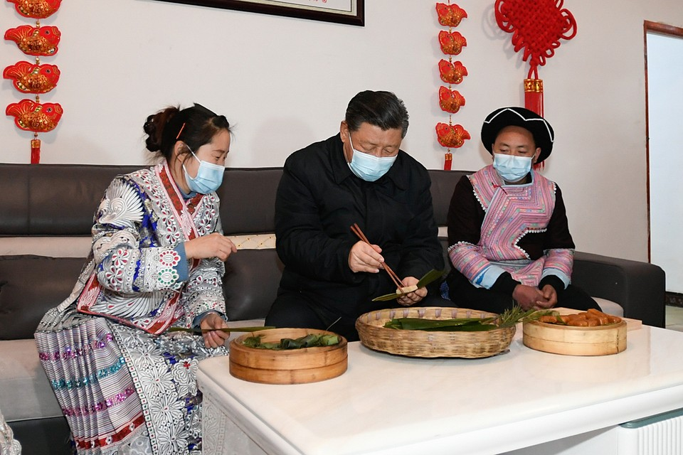 Председатель КНР Си Цзиньпин объявил, что в стране побеждена нищета