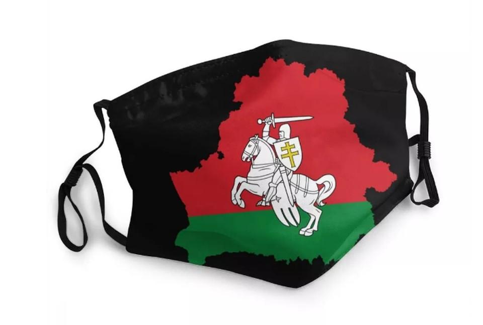 Белый рыцарь из Беларуси, чехол с серпом и молотом, маски и плащи с любым гербом: какие удивительные товары с белорусской символикой продают на AliExpress